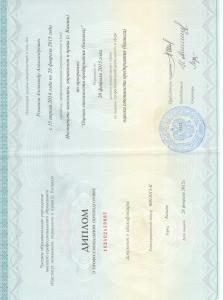 Диплом Романов
